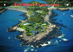 Maine Kennebunkport The Bush Compound Aerial View