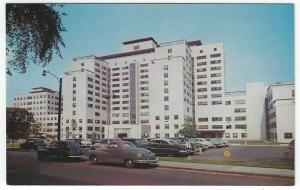 Hartford, Connecticut, Early View of Hartford Hospital