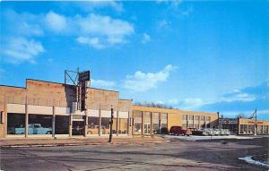 Buffalo NY Taylor-O'Brien Corp. Ford Dealership Cars Postcard