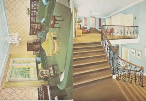 Denman College Drawing Room Landing Staircase 2x Postcard s
