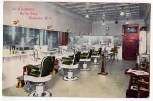 Hotel Eggleston Barber Shop, Rochester NY