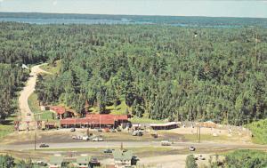 Narrows LTD., Aerial View, Gift Shop, SIOUX NARROWS, Ontario, Canada, 40-60´