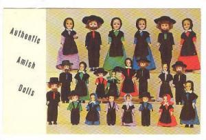 Amish Dolls , The Garden Spot China Co. Lancaster, Pennsylvania, 40-60s