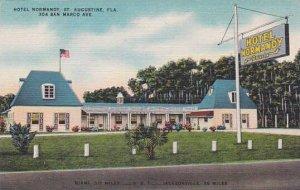 Florida Saint Augustine Hotel Normandy 304 San Marco Albertype