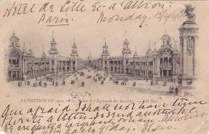 Les Palais De l'Esplanade Des Invalides, Exposition De 1900, Paris, France