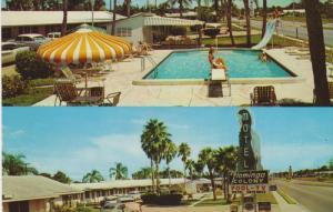 Swimming Pool, Flamingo Colony Motel, SARASOTA, Florida, 40-60´