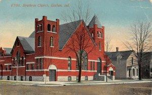 LP34   Goshen Indiana Postcard  Brethern Church