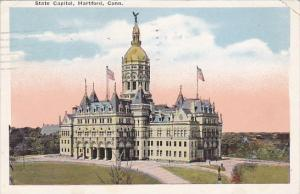 Connecticut Hartford State Capitol 1922