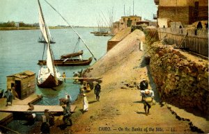 Egypt - Cairo. On the Banks of the Nile