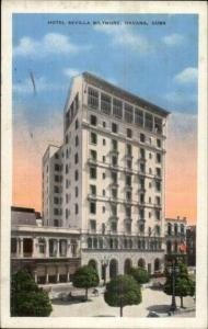 Havana Cuba Hotel Sevilla Biltmore Postcard Made in USA