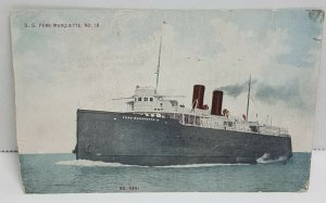SS Pere Marquette No 18 Vintage Postcard