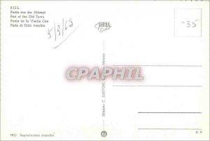 Modern Postcard Biel Part of the Old Cite