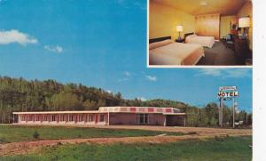 2-Views, Westway Motel Ltd., Copper Cliff, Ontario, Canada, 1940-1960s