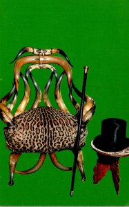 Indiana Indianapolis President Benjamin Harrison Home Horn Chair