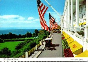 Michigan Historic Mackinac Island The Grand View