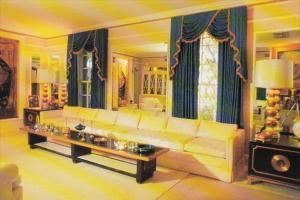 Elvis Presley Graceland Mansion Living Room Memphis Tennessee