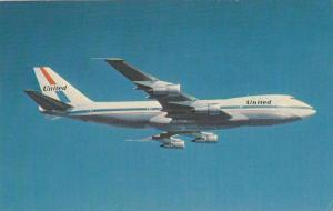 Fly the friendly skies of United 747.,  60-80s