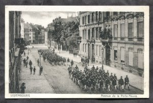 dc660 - LUXEMBOURG 1910s Street View Postcard