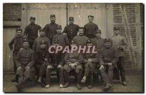 PHOTO CARD Stenin (Hanover) October 3, 1915 GRoup military (militaria)