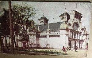 Vintage Postcard Mormon Tabernacle Ogden Utah 1911 Period Clothes