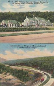 BEDFORD , Pennsylvania , 1930-40s ; Howard Johnson on turnpike