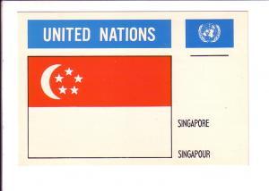 Singapore, Flag, United Nations