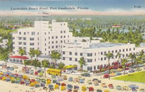 FORT LAUDERDALE , Florida , 1952 ; Beach Hotel