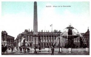 France Paris  Place de la Concorde