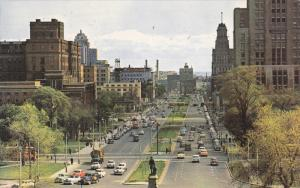 University Avenue, Classic Cars, TORONTO, Ontario, Canada, 40-60's