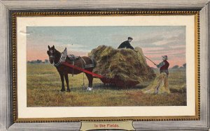 Hay Wagon , In the Fields , Ontario , Canada , PU-1910