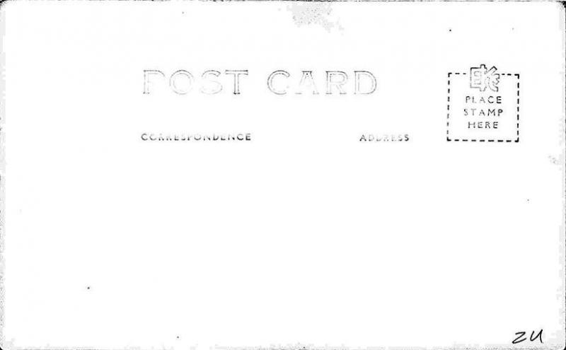 Hollywood CA Palladium Name Band Ballroom Marquee RPPC Postcard