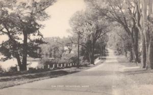Elm Street at Skowhegan, Maine - Along Kennebec River