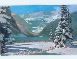 Unused Pre-1980 LAKE SCENE Lake Louise Alberta AB F3222