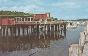 Lobsterman's Wharf, East Boothbay, Maine, 1940-1960s