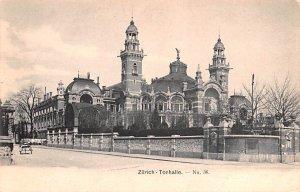 Zurich Tonhalle Switzerland Unused