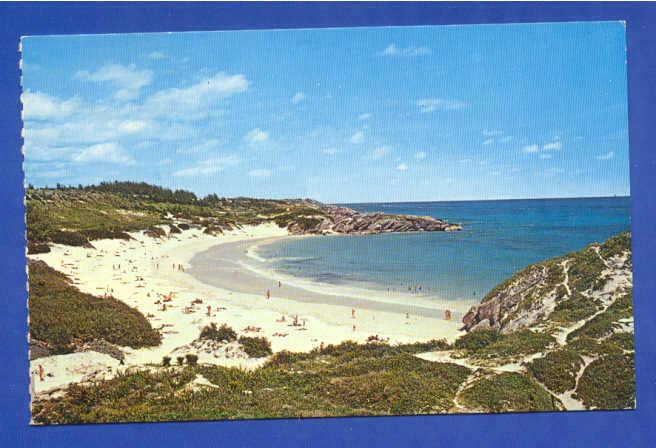 POSTCARD BERMUDA HORSESHOE BAY SOUTHAMPTON 1960 YEARS