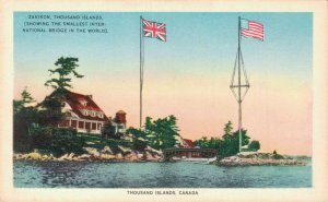 Canada Zavikon Thousand Islands Smallest International Bridge 06.32