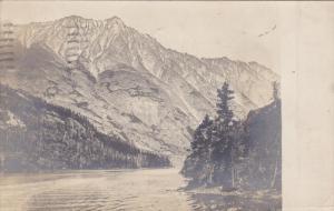VANCOUVER, British Columbia, Canada, PU-1914; Mountain Scene