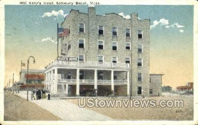 Kelly S Hotel Salisbury Beach Ma Missing Stamp 1924