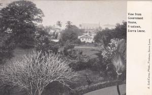SIERRA LEONE , 00-10s : View from government house , FREETOWN