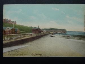 SUNDERLAND Holey Beach & Rock Roker c1905 Postcard by The Wrench Series 11125