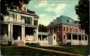 Thanksgiving Hospital - Cooperstown NY - NEW YORK - POSTCARD CIRCA 1910