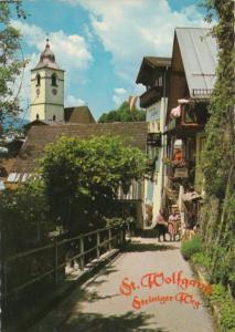 Austria St Wolfgang Steiniger Weg Street Scene