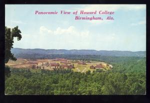 Birmingham, Alabama/AL Postcard, Howard College From Shades Mountain