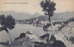 Italy Sorrento e Capodimonte Panorama