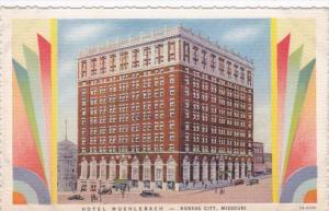 Missouri Kansas City Hotel Muehlbach Curteich