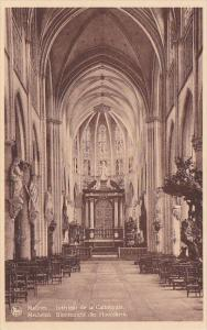 Belgium Mechelen Binnenzicht der Hoofdkerk