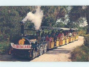 Pre-1980 FLORIDALAND TOURIST ATTRACTION Between Venice & Sarasota FL AF9104