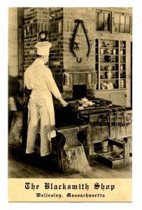 MA - Wellesley. The Blacksmith Shop