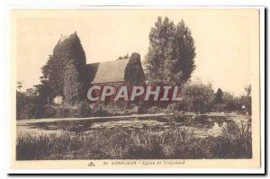 Honfleur Postcard Ancient Church of Criquebeuf
